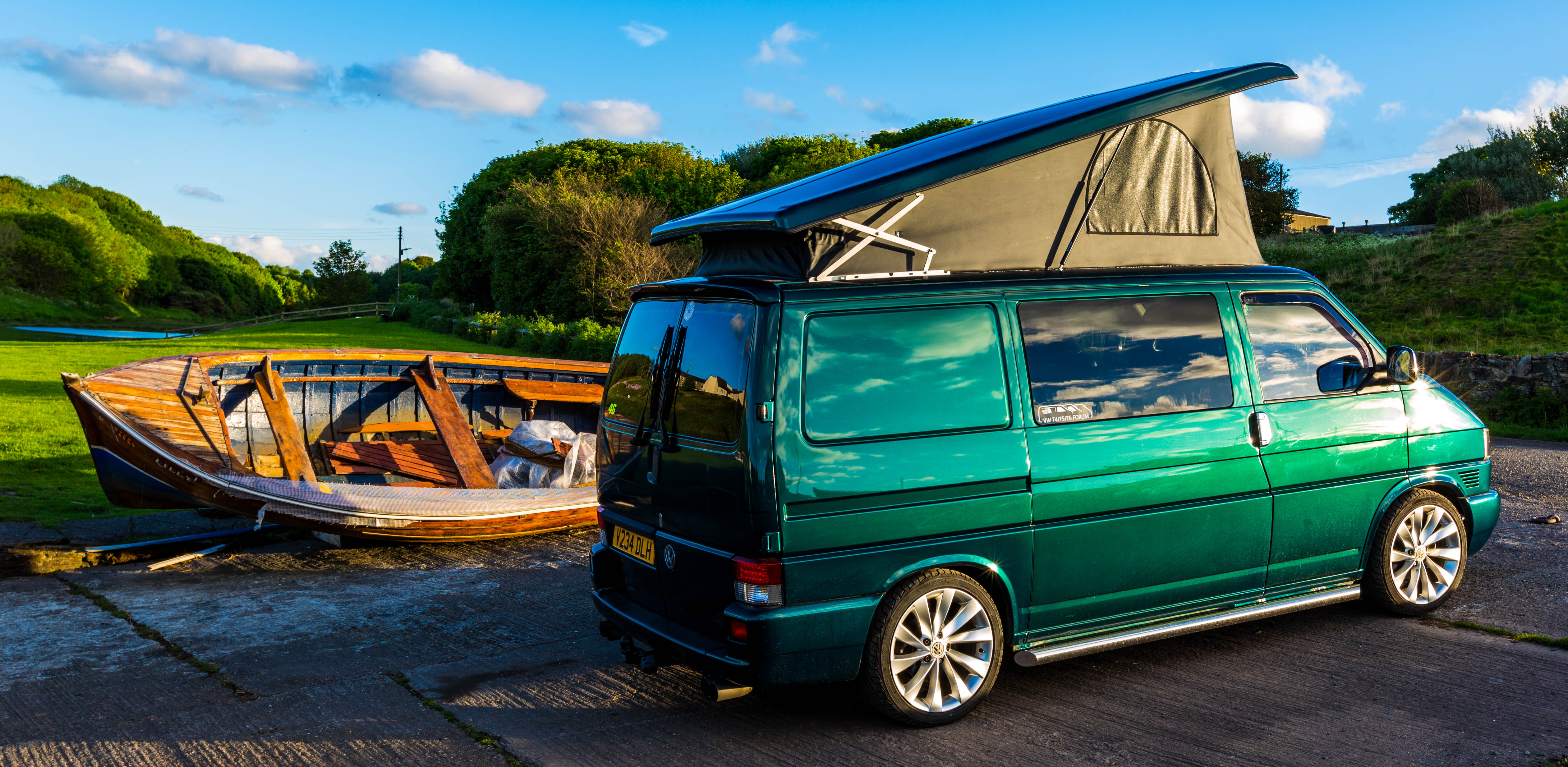 Pop Top Roofs Dub Daddy Campers